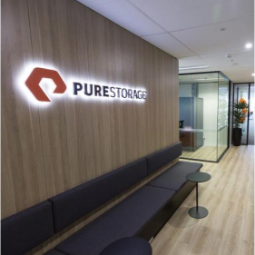 pure storage building